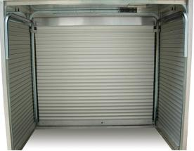 昆明住人集装箱:卷帘门集装箱房