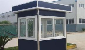 昆明集装箱网钢结构不锈钢岗亭的清洁方法