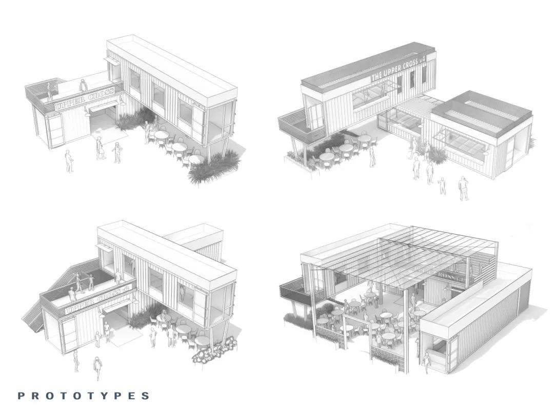 集装箱街区、集装箱公园这样设计太好看了