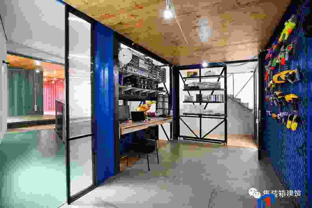 集装箱建构筑物的优势:住人集装箱节约环保